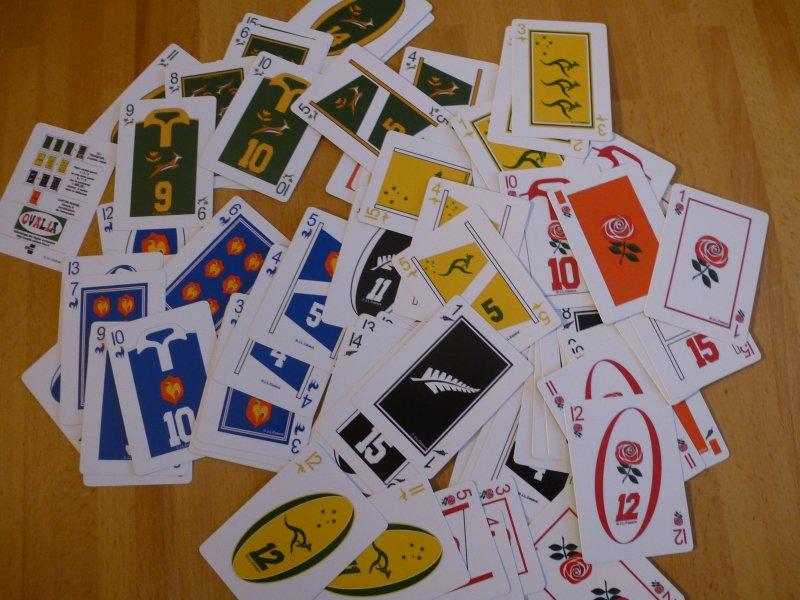OVALIA cards